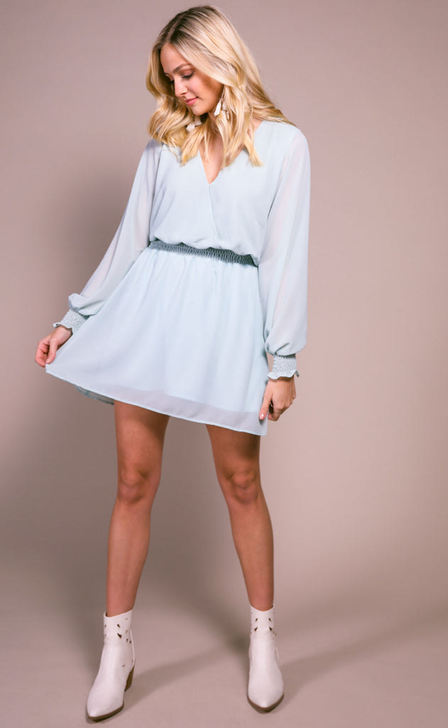 show me your mumu: adelaide dress - soft seafoam