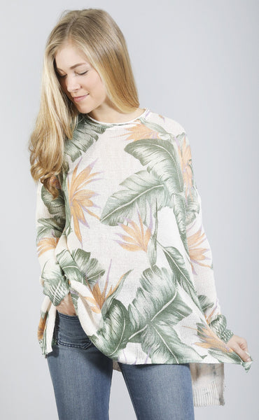 show me your mumu: bonfire sweater - day in paradise knit