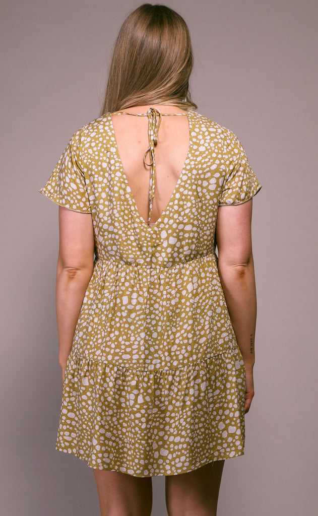 show me your mumu: cia mini dress - desert cheetah
