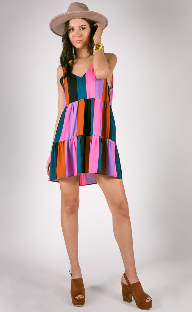 show me your mumu: emme tank dress - mezcal stripe