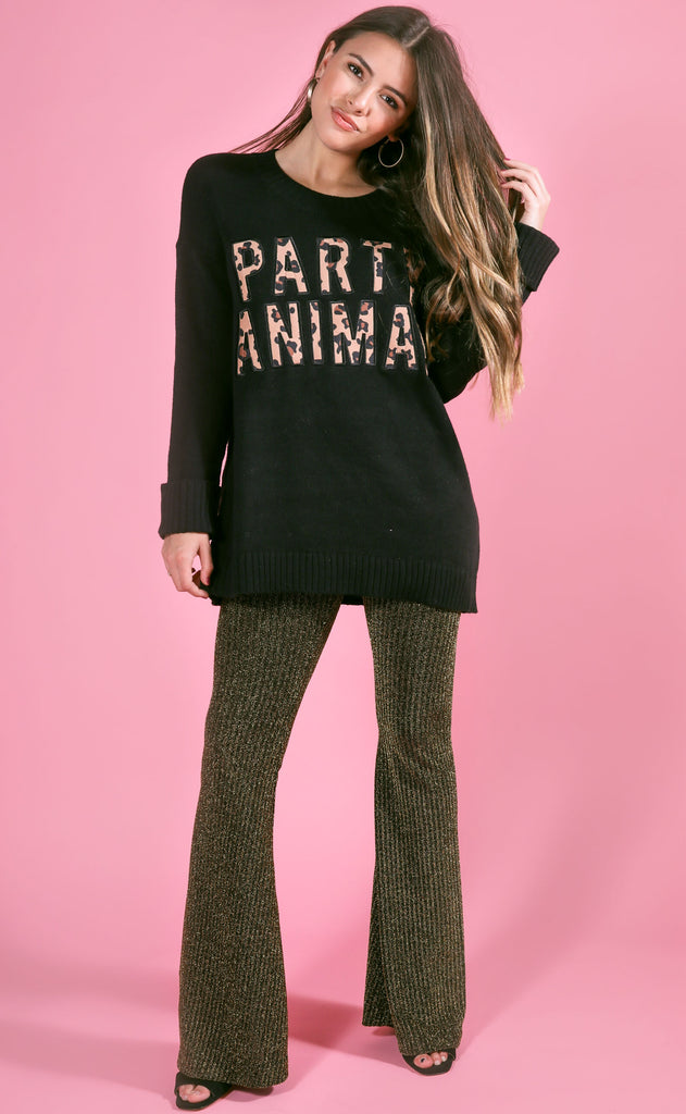 show me your mumu: fireside sweater - party animal