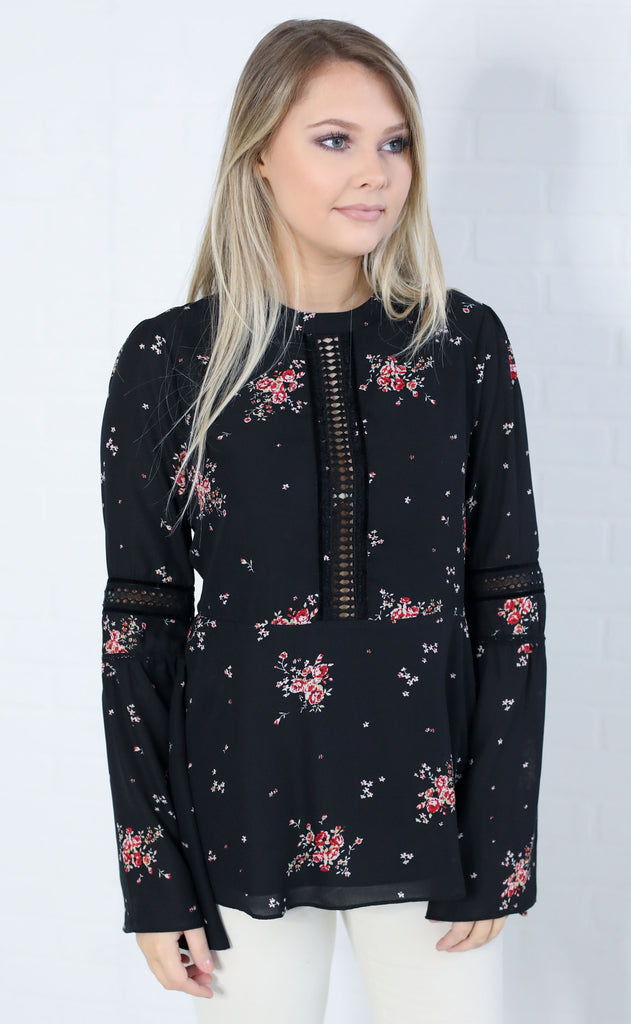 show me your mumu: lafayette top - dancing floral