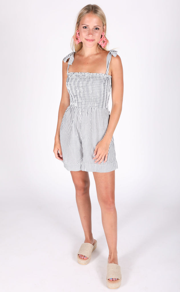 show me your mumu: leni romper - everyday stripe