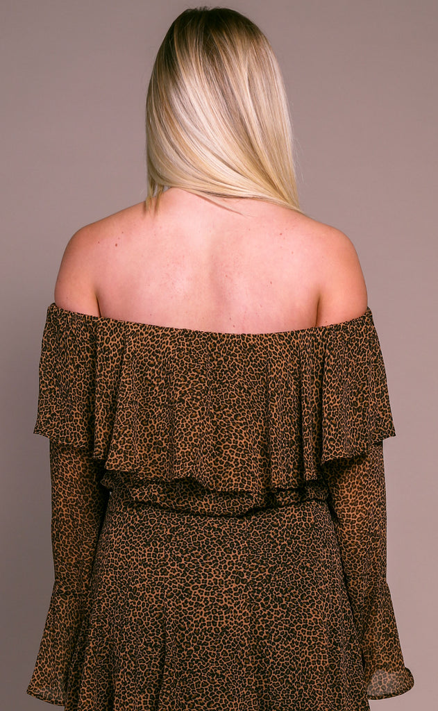 show me your mumu: love spell top - lucky leopard