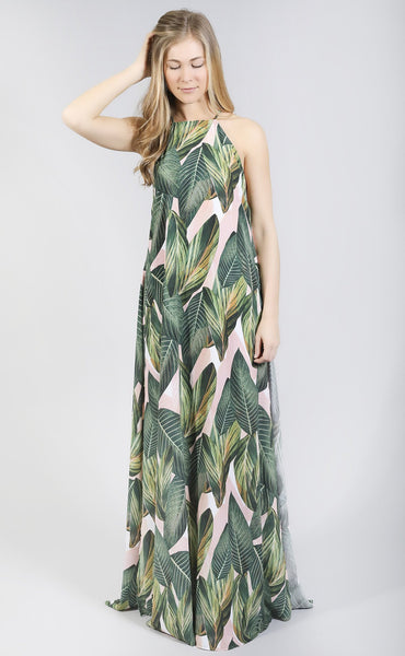 show me your mumu: bronte maxi dress - peachy palm