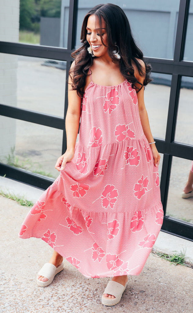 show me your mumu: may maxi dress - lovely floral crepe