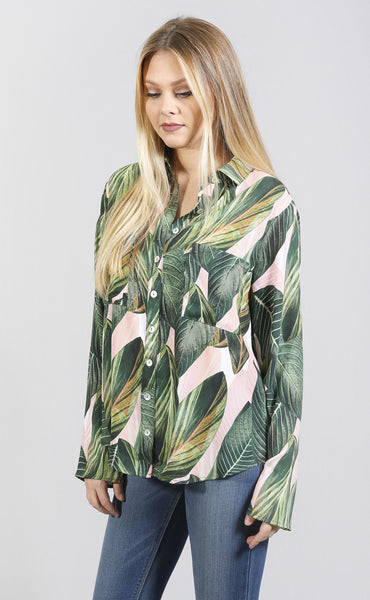 show me your mumu: murphy top - peachy palm