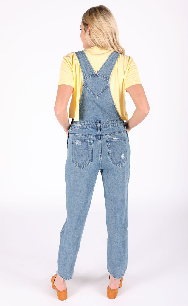 show me your mumu: alma overalls - pitch blue