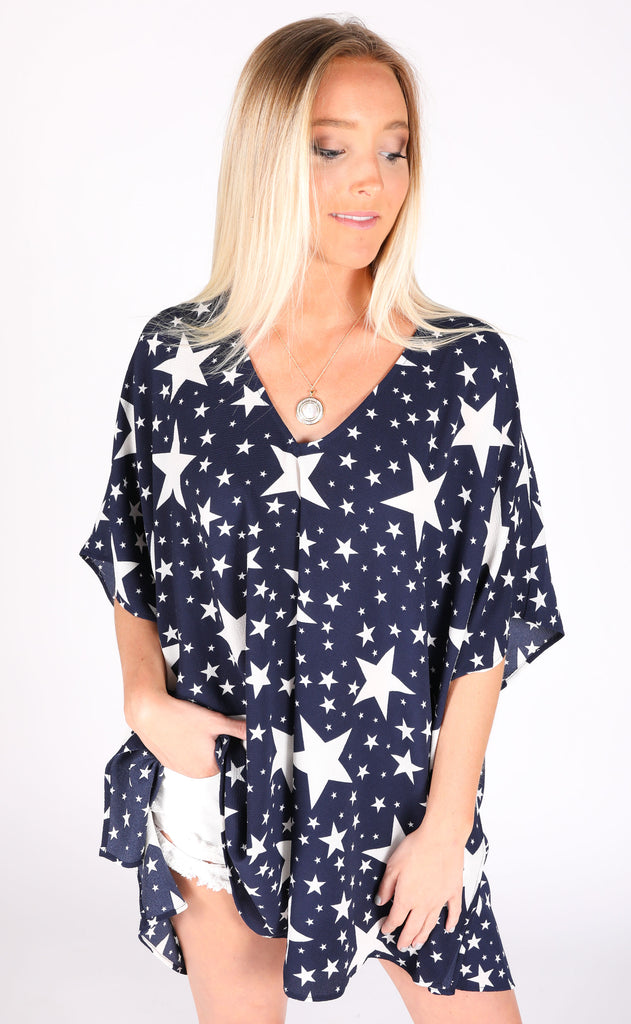 show me your mumu: peta tunic - star spangled