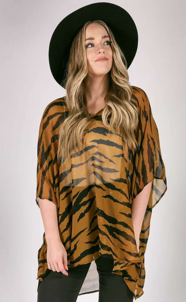 show me your mumu: peta tunic - great tiger