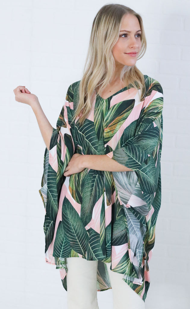 show me your mumu: peta tunic - peachy palm