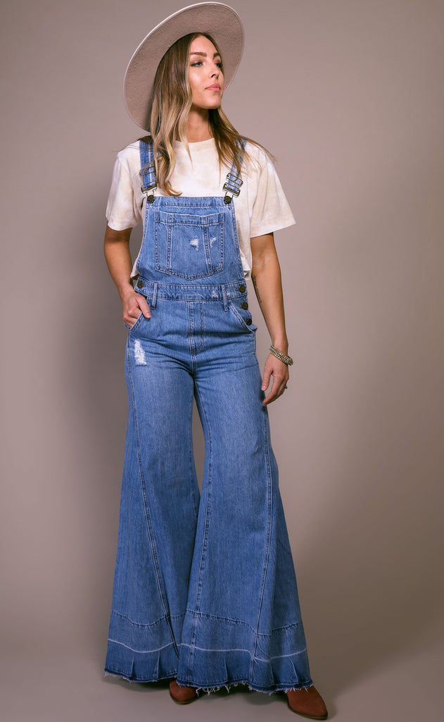 show me your mumu: san fran overalls - carolina blue