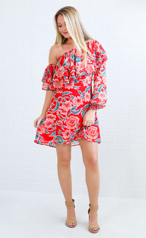 show me your mumu: watson mini dress - pink about you
