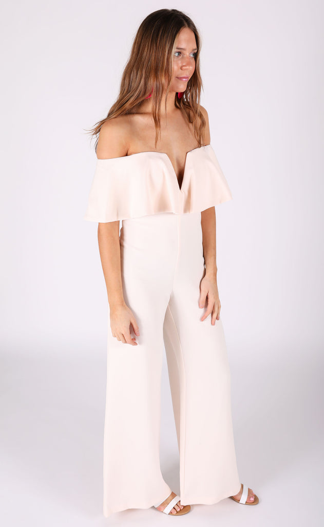 muse strapless jumpsuit
