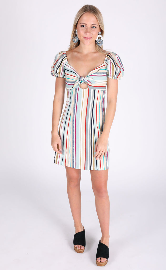 my girl striped dress