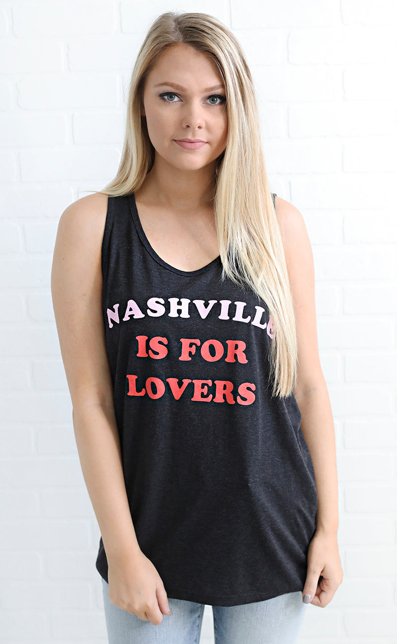 charlie southern: nashville is for lovers tank