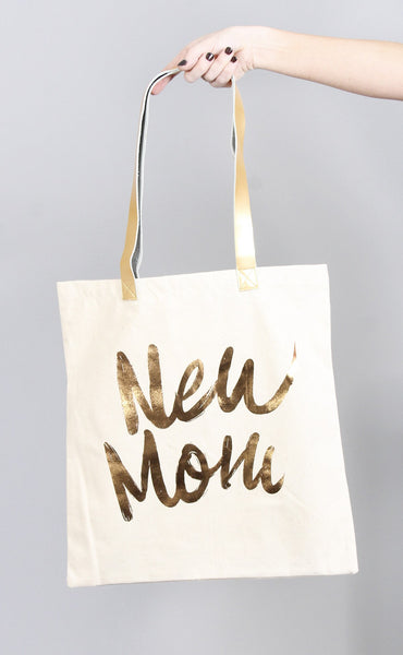 charm school tote bag - new mom