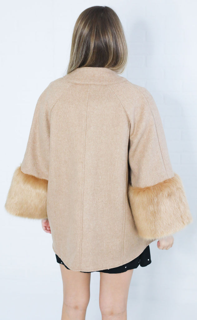 new york minute fur jacket