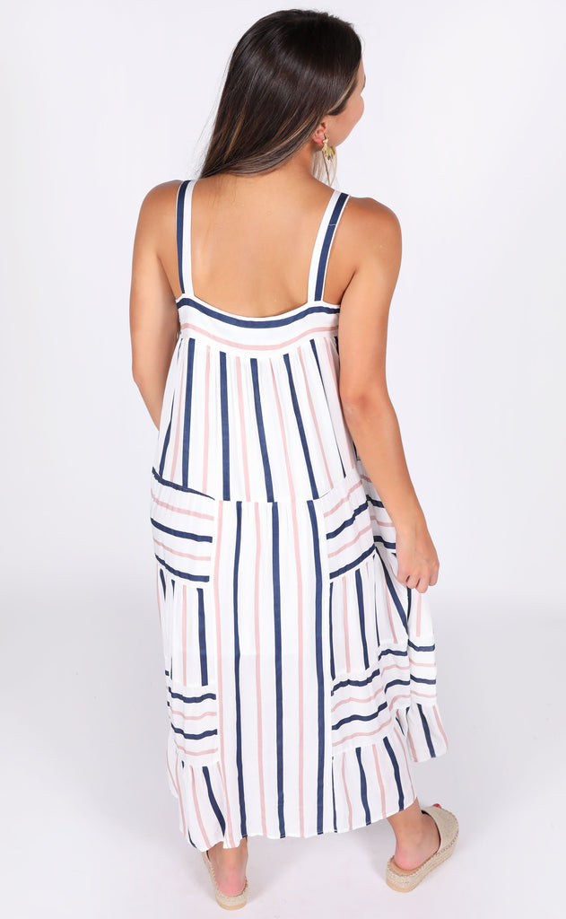 nothing better striped dress