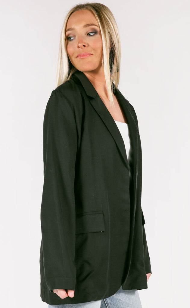 office etiquette oversized blazer