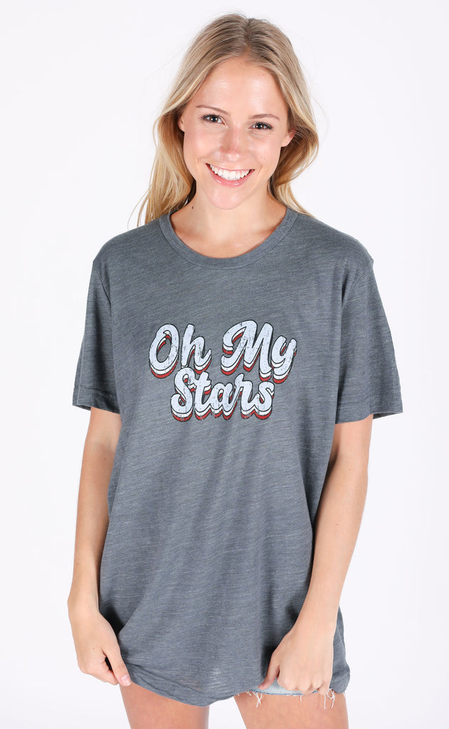 friday + saturday: oh my stars t shirt (PREORDER)
