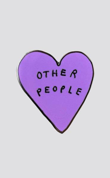 valley cruise press: other people heart pin