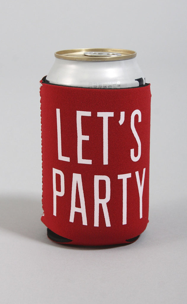 let's party koozie