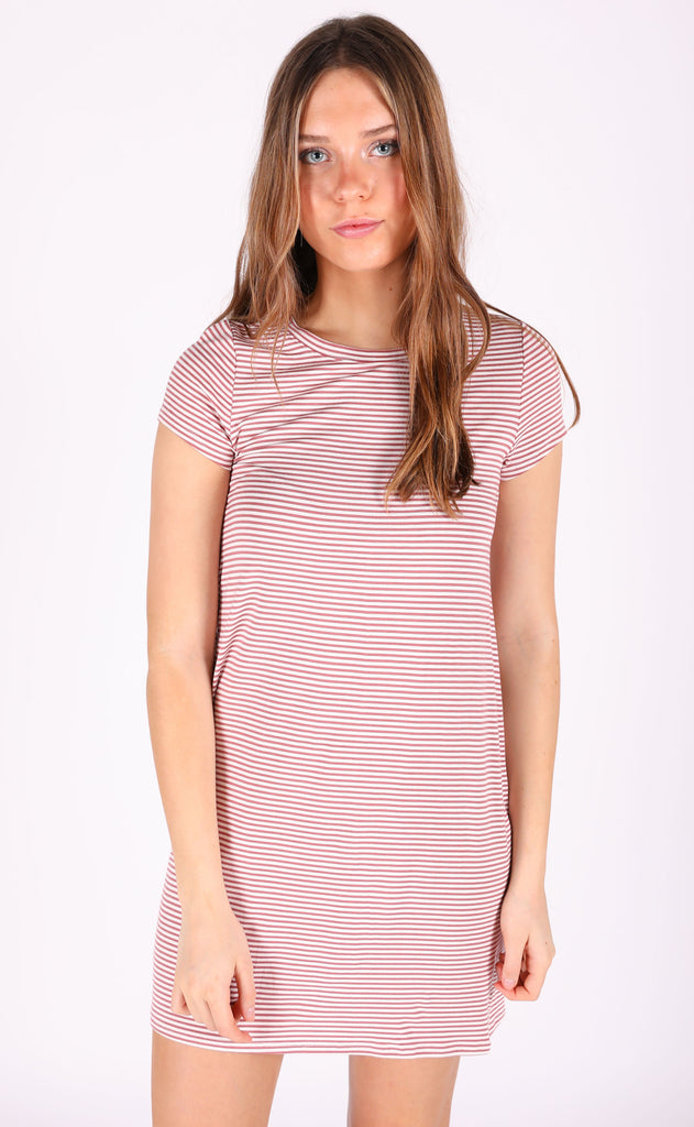 perfect pick striped dress