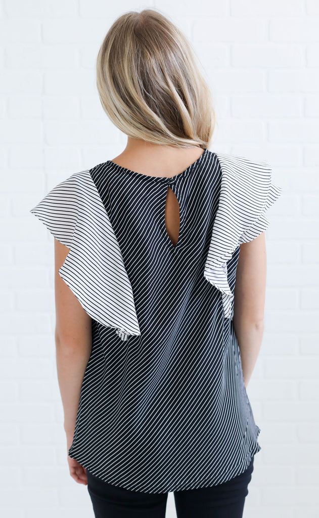 perfect pick striped top