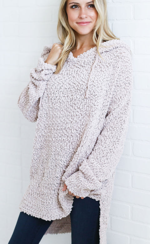 perfectly plush oversized sweater - pale lavender