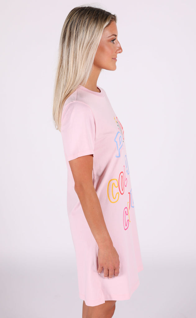 ban.do: t-shirt dress - piña colada club