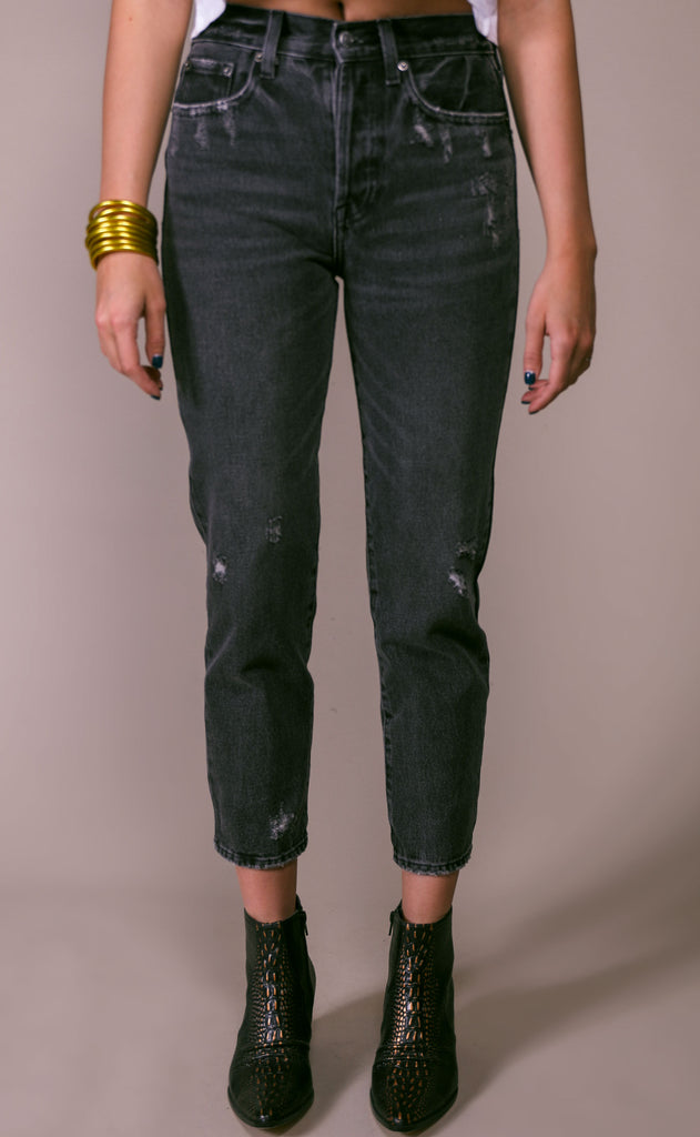 pistola: charlie straight leg jeans - cameo
