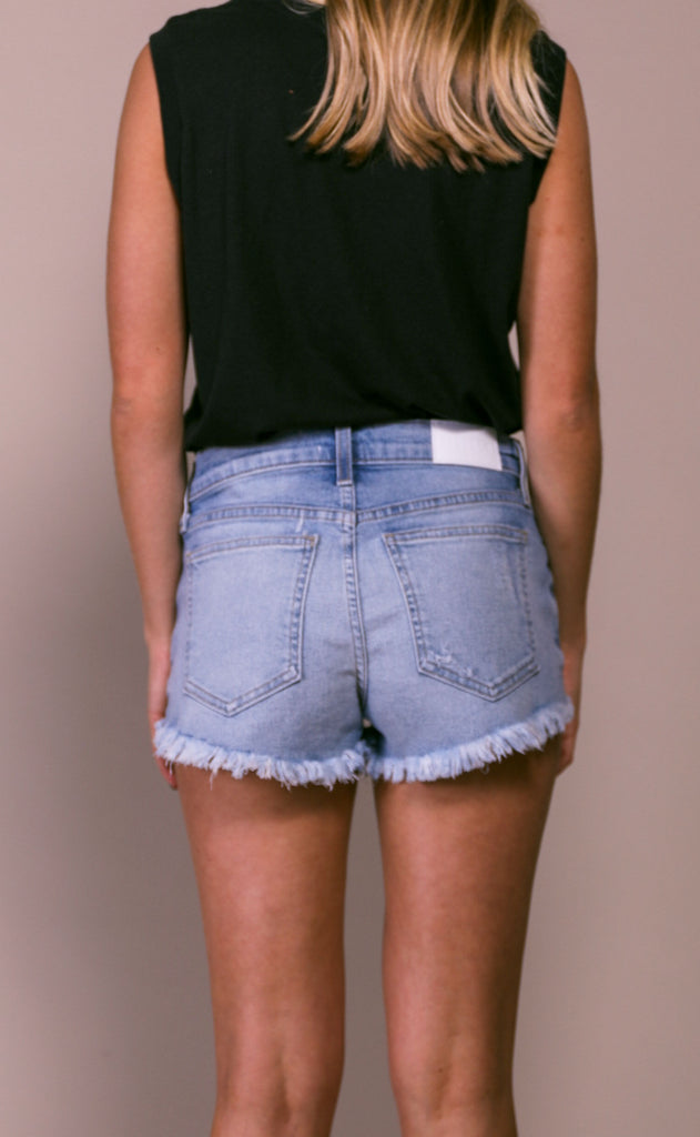 pistola: gigi low rise cutoff shorts - about last night