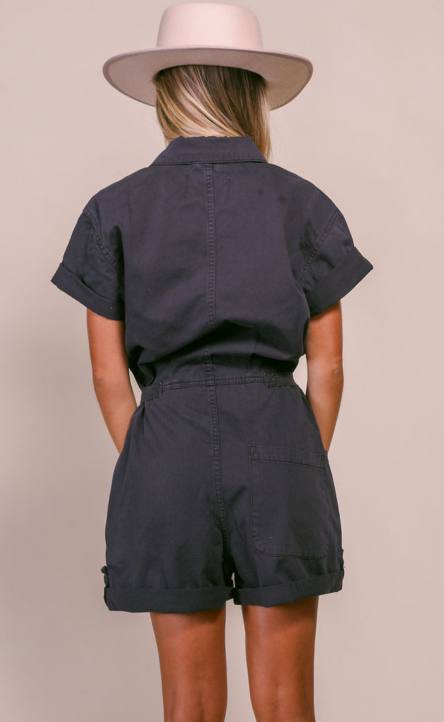 pistola: parker field suit - licorice