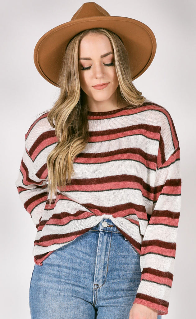 portland striped sweater