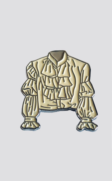 valley cruise press: puffy shirt pin