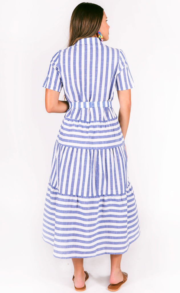 punta cana striped dress