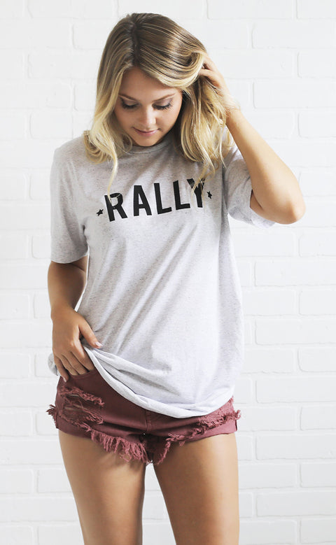 charlie southern: rally t shirt