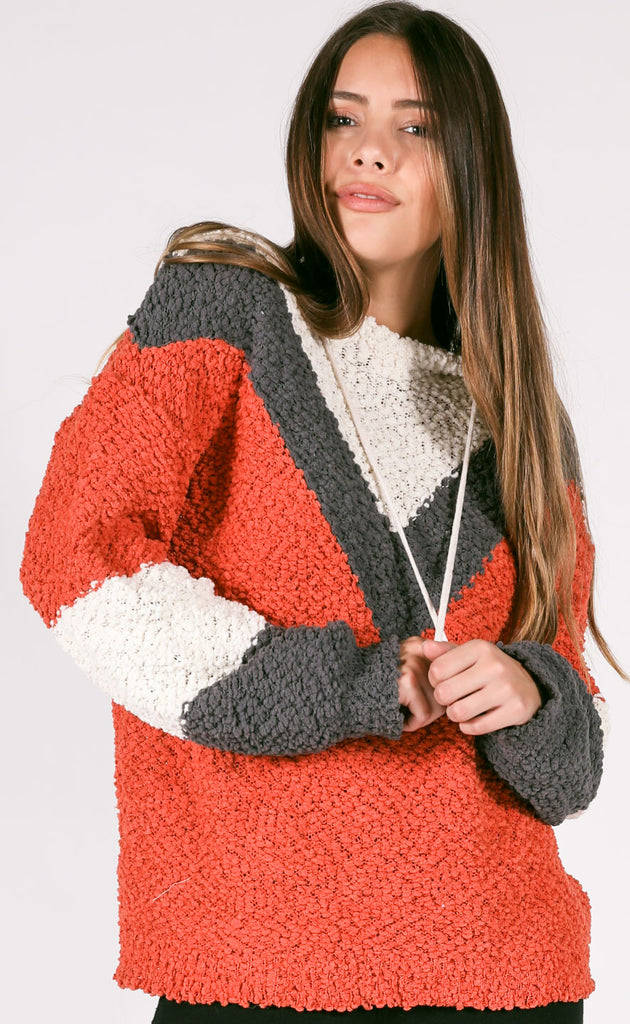 rancho mirage hooded sweater