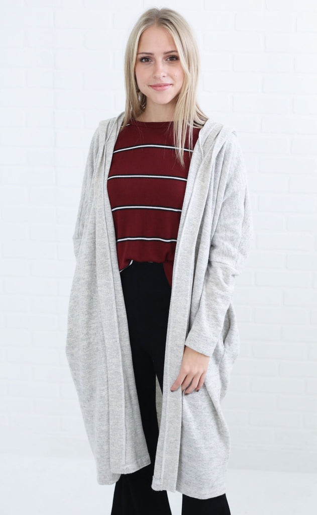 ready to relax knit cardigan