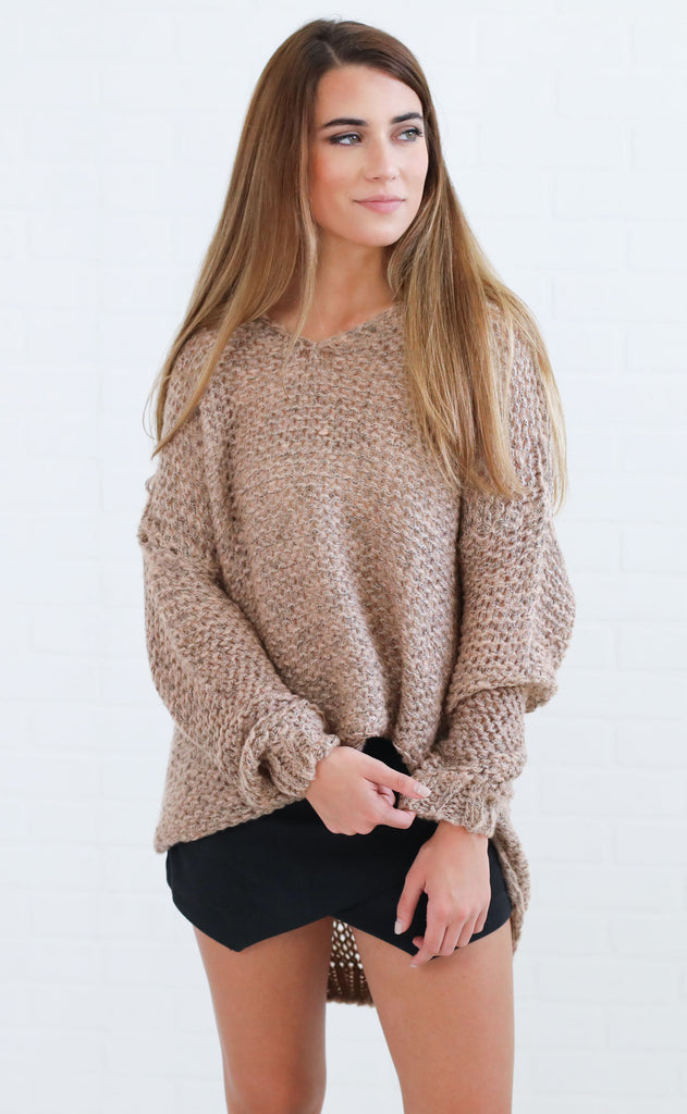 rendezvous knit sweater