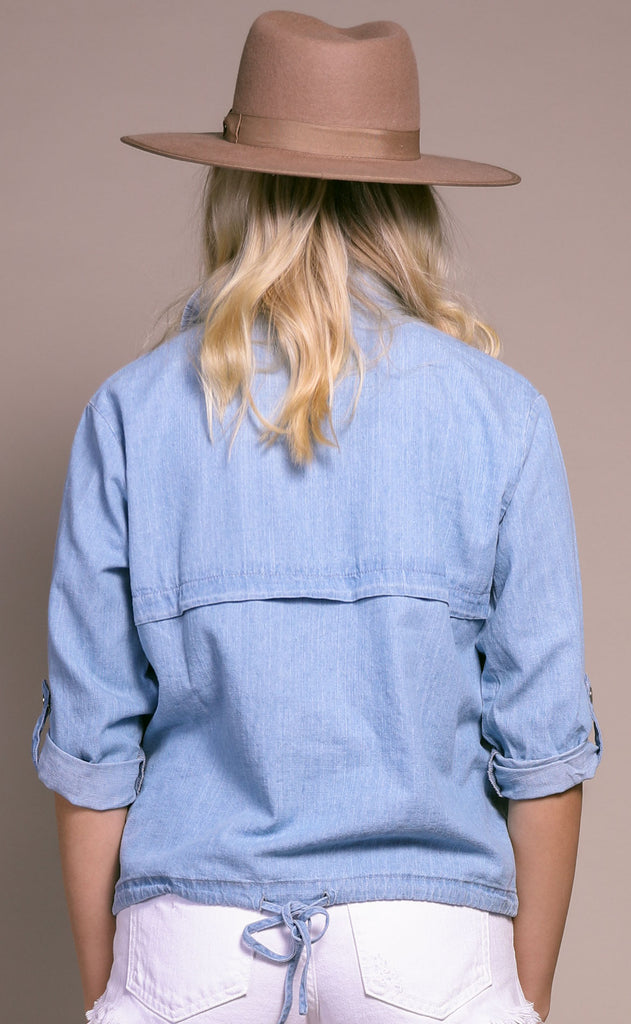 rhythm + blues chambray jacket