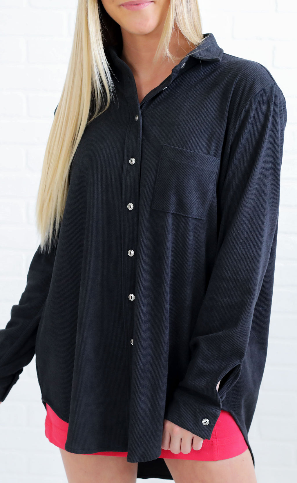 rib it up button up top