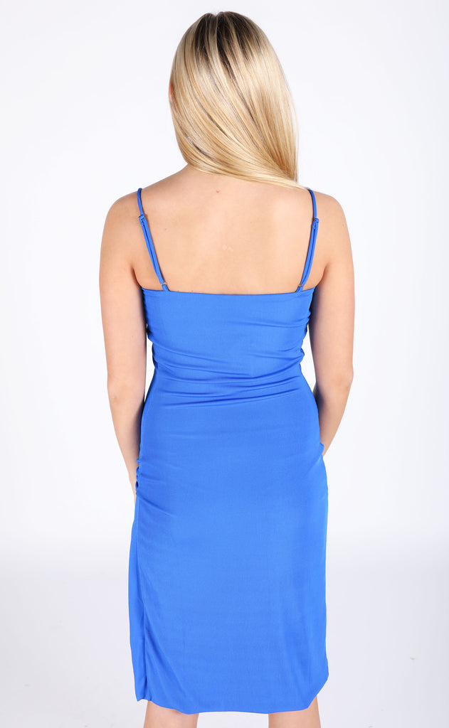 fletch: valentina rib bodycon dress