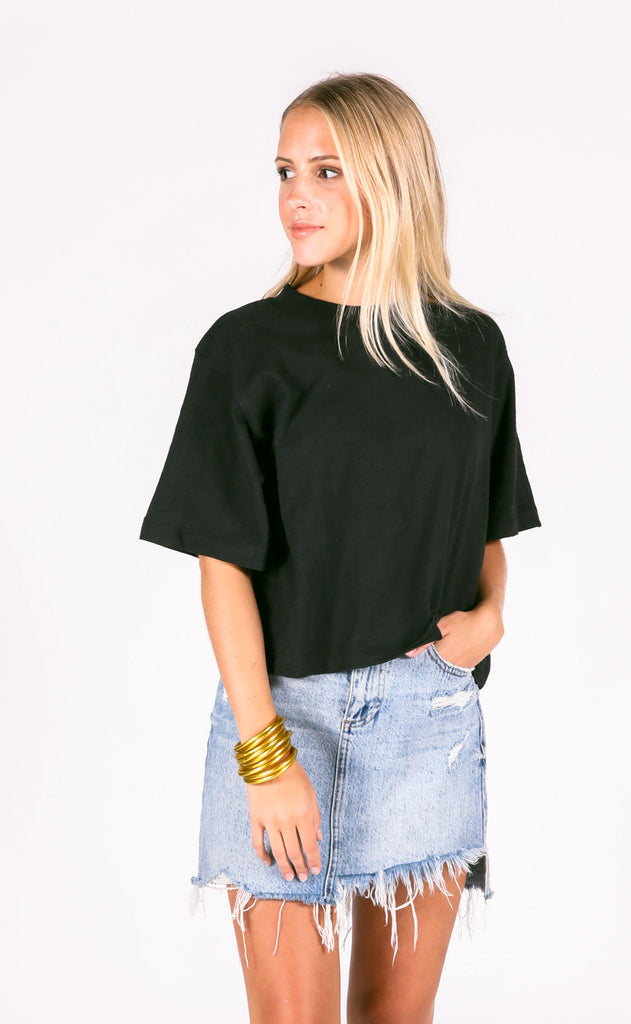 richer poorer: grown up crop - black