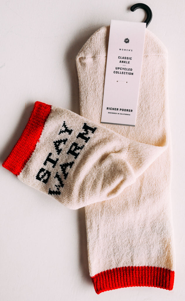 richer poorer: stay warm sock