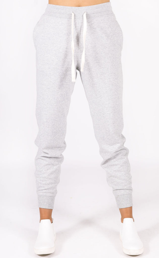richer poorer: basic sweatpant - grey