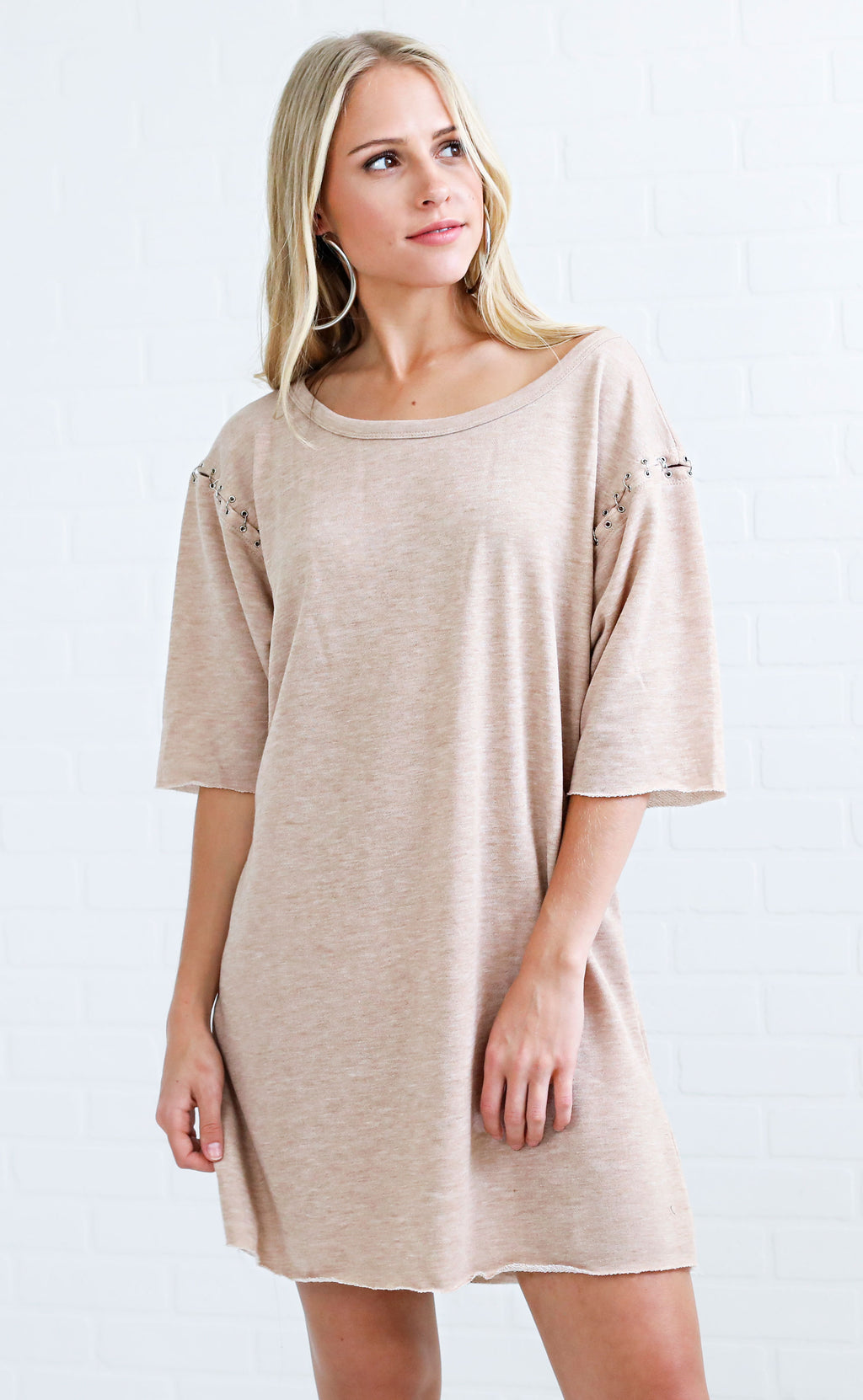 ring to it sweatshirt dress