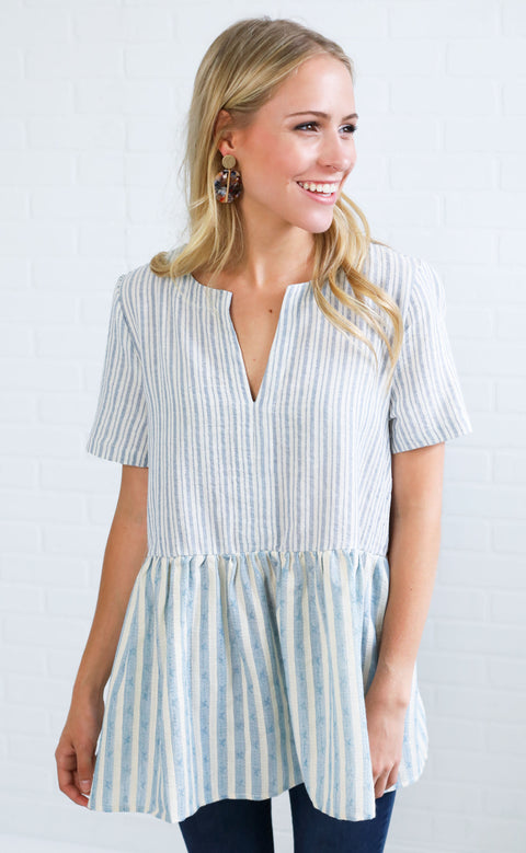 rosemary beach babydoll top