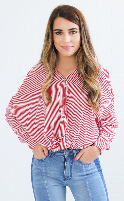 rosie button up top